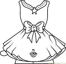 Tutucute Shopkins Coloring Page