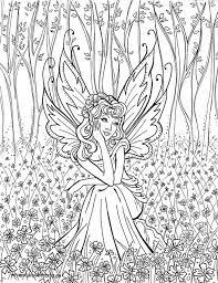 Free Printable Fairy Coloring Pages For Adults Unicorn