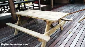 diy picnic table myoutdoorplans free woodworking plans and