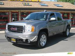 2007 GMC Sierra 1500 SLT Crew Cab 4x4 In Steel Gray Metallic ... 062013 Chevrolet Tahoegmc Yukon Preowned 2007 Gmc Sierra 1500 Single Cab Afrosycom Umopapisdn Gmc Crew Cabsle Pickup 4d 5 34 Ft Specs No End In Sight For Deluxe Pickup Truck Prices Slt Extended Onyx Black 1600 Jax Denali 4wd Summit White 680266 2019 Reinvents The Bed Video Roadshow Eg Classics 072013 Grille Style Z 1gtecx17z131406 White New Sierra On Sale Ca San