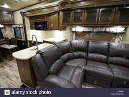 100 Modern Travel Trailer Recreation Vehicle Interior Interior Stock