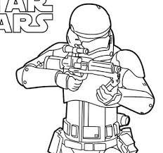 Lego Star Wars 2 Coloring Page
