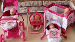 100 Kangaroo High Chair My Little Pony Baby Doll Nursery Centre Playpen Dolls Pram