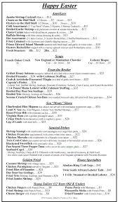 Wharfside Patio Bar Nj by Easter Menu The Shrimp Box Jersey Shore Restaurant Point
