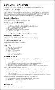Sample Resume For Bank Jobs Freshers Samples Database Format Banking Sector New Best Resumes