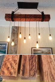 100 Rustic Ceiling Beams Wood Beam Lighting Industrial Chandelier ID Lights