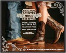 Chicago Country Music Festival Poster