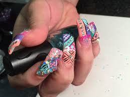 Super Long Acrylic Nails with Exotic Nails Design 2015 Part 3 END