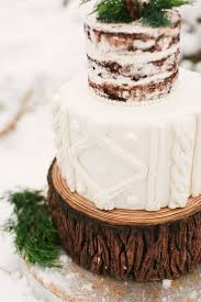 32 Winter Wedding Cakes For Serious Sugar Rush Ruffled