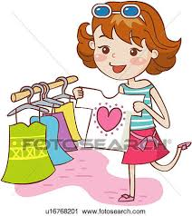 Clipart Of Garment 19 59years Old Clothing Store Dress Shop
