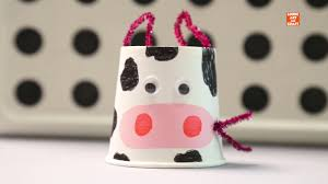Cute Paper Cup Pig