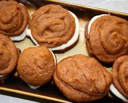 Pumpkin Whoopie Pies With Maple Spice Filling by Pumpkin Whoopie Pies Whoopie Pie Recipe