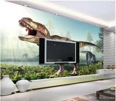 3d Room Wallpaper Custom Photo Mural Cool Ancient Dinosaur Tv Background Wall Painting Picture Murals For Walls 3 D Computer Desktop