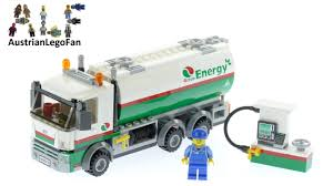 Lego City 60016 Tanker Truck - Lego Speed Build Review - YouTube