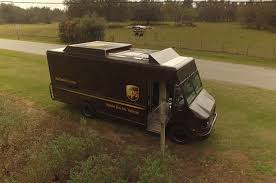 100 Ups Truck Dimensions UPS Demonstrates Based Drone System For Rural