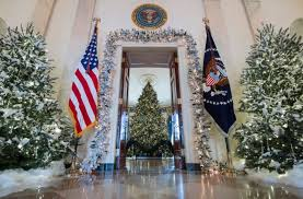 The Christmas Trees Include One That Is 18ft High Picture Getty