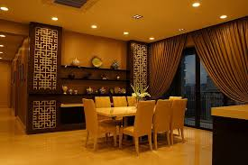 3 Chinese Dining Room Urbane Apartment With Asian Design Plushhome Singapore