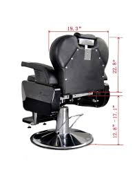 Fully Reclining Barber Chair by Barberpub All Purpose Barber Chair Brown U2022 Choicebarber Com