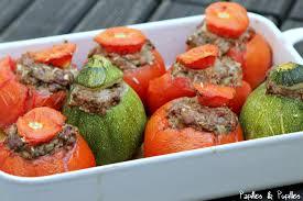 comment cuisiner les courgettes au four tomates farcies maison