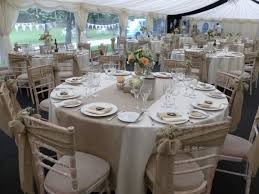 Wedding Chair Sash Buckles by Burlap Sashes And Table Runners Dressed On Chiavari Chairs At St