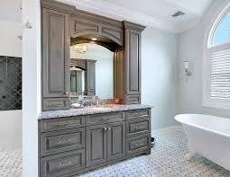 Distressed Bathroom Vanity Gray by Bathroom Modern Double Vanity Vessel Sink Vanity Grey Bathroom