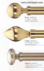 Target Curtain Rod Finials by Brass Curtain Rods U2013 Glorema Com