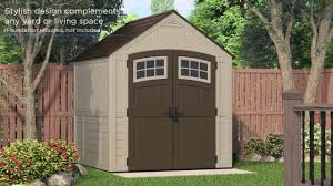Suncast Tremont Shed 8 X 13 by Bms7791 322 Cu Ft Sutton 7 X 7 Storage Shed Youtube