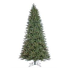 9 Ft Flocked Pencil Christmas Tree by 9 Ft Christmas Tree