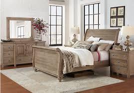 Summer Grove Gray 5 Pc Queen Bedroom at Rooms To Go Find Queen