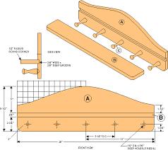 Shelf Woodworking Plans by Free Mug Holder Shelf Woodworking Plans From Shopsmith