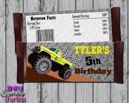 Printable MONSTER TRUCK CANDY Bar Wrappers Monster Truck Monster Jam Trucks Do It Yourself Birthday Party Favor Truck 3d Delux Pack This Started Colors Jams Supplies Together With Jam Gravedigger Ideas Photo 6 Of 10 Cre8tive Designs Inc Custom Printable Invitation Canada Tags For Cheap Derby Suckers Lollipops Favors Twittervenezuelaco Real Parties Modern Hostess