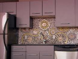 Favorite Mosaic Tile Kitchen Backsplash For Simple Kitchen of