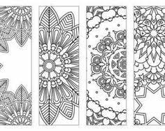 Print These Bookmarks On Card Stock Cut And Let Kids Color Them