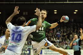 FileEvars Klesniks Throwing 1 DKB Handball Bundesliga HSG Wetzlar