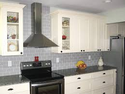 Grey Kitchen Backsplash Number e With Limestone Countertops And