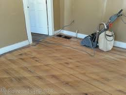 Applying Polyurethane To Hardwood Floors Without Sanding by Tips For Sanding Vintage Hardwood Floors My Repurposed Life