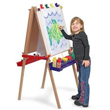 Step2 Art Easel Desk by U0026 Doug 11282 Deluxe Sturdy Wood Standing Art Easel