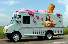 Jesus Ice Cream Truck. | Ice Cream | Pinterest | Wholesale Ice Cream ... Miami Homestead Florida Redlands Farmers Market Ice Cream Vendor When Was The Last Time You Seen An Ice Cream Truck Passing Your Clipart Of A Black Man Driving Food Vendor For Sale Used Buddy L Pressed Steel Mister Ice Cream Wworking The Why My Kids Only Know It As Music Avalon Considers Banning Trucks And Vendors 6abccom Trucks Rocky Point Van Wrap Advertising 3m Wilmington Idwrapscom Aa Vending Available For Events In Michigan