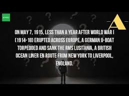 where did the sinking of the lusitania take place youtube