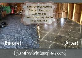 how to stain concrete to look like tile hometalk