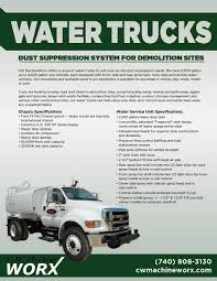 Water Truck, Dust Suppression System | CW Machine Worx