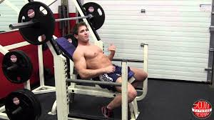 How To Barbell Incline Chest Press