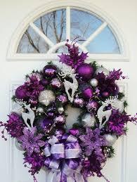 Purple Christmas Decorations 6