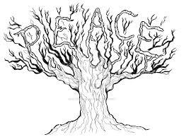 Peace Tree Tattoo By Optimus8404