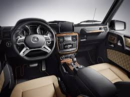 Mercedes G Class Final Edition Interior
