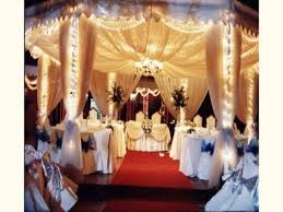 Decoration For Wedding Reception New