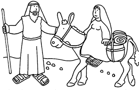 Bible Story For Kids Coloring Page Image