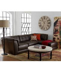 Alessia Leather Sofa Living Room by Apartment Living Room Décor And Furniture Macy U0027s