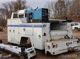 100 Used Service Trucks Auto Crane SERVICE BODY WITH CRANECOMPRESSOR
