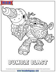Grilla Drilla Coloring Page From Skylanders Swap Force Pages More Video Games Sheets On Hellokids